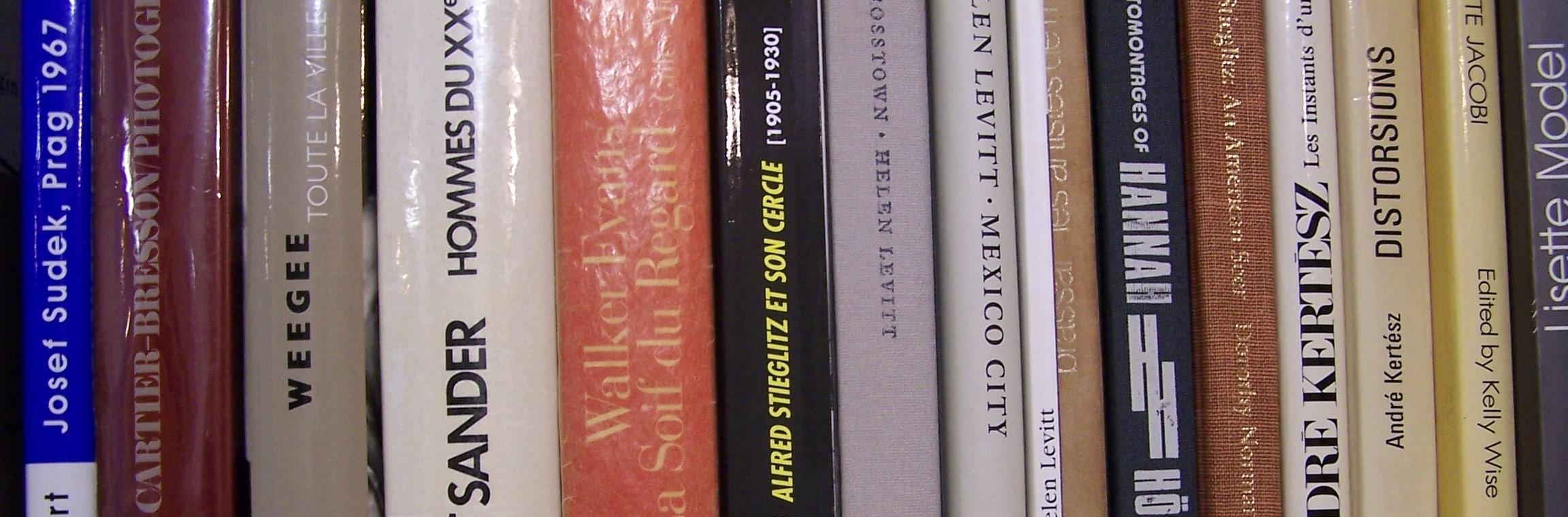 Penser la photographie Les livres de photographie