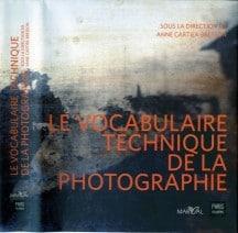 Le vocabulaire technique de la photographie
