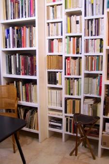 Bibliothèque photo à l'Atelier pH. neutre pour les cours de photographie