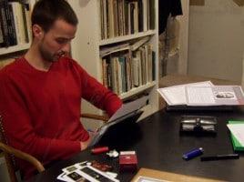 cours de photographie de l'Atelier pH.neutre /Grégory Chinon en cours