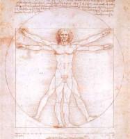 Le photographique chez Murdoch - Léonard de Vinci. 1490 L'homme de Vitruve