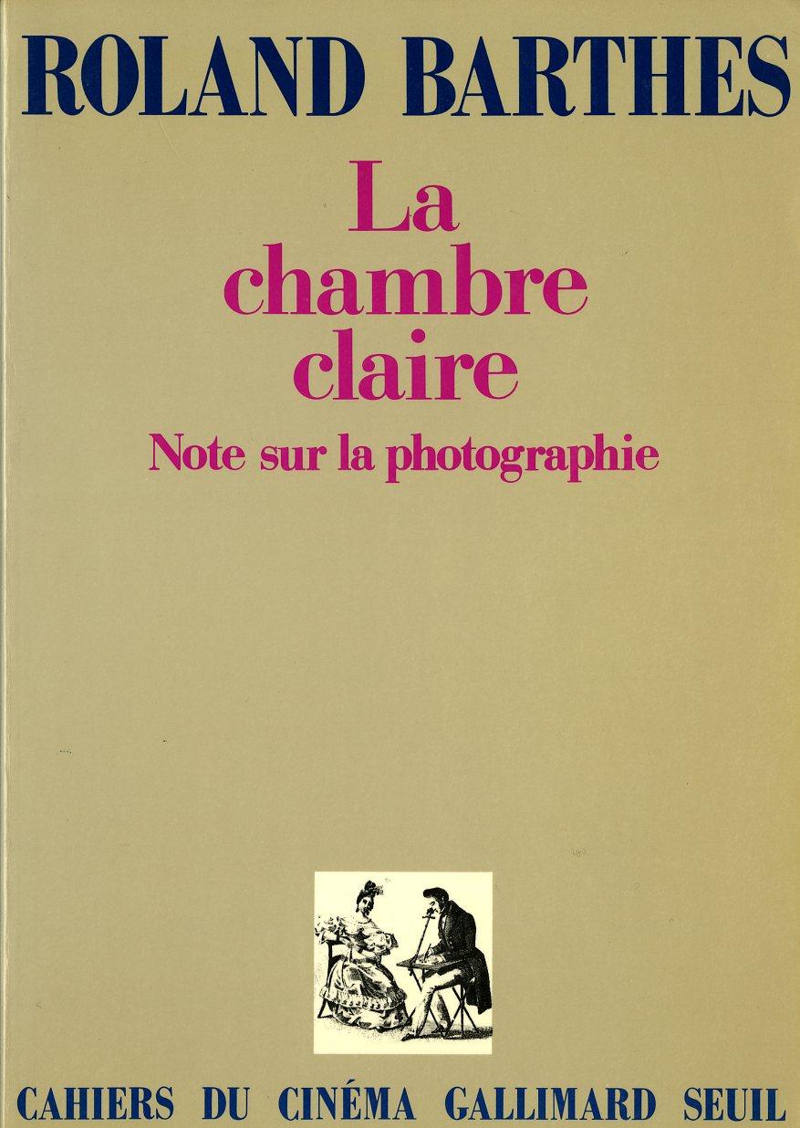 Bibliothèque photo - Roland Barthes La chambre claire