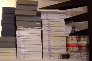 Colette Gourvitch - boîtes de tirages argentiques