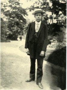 Josef Sudek, premiers autoportraits