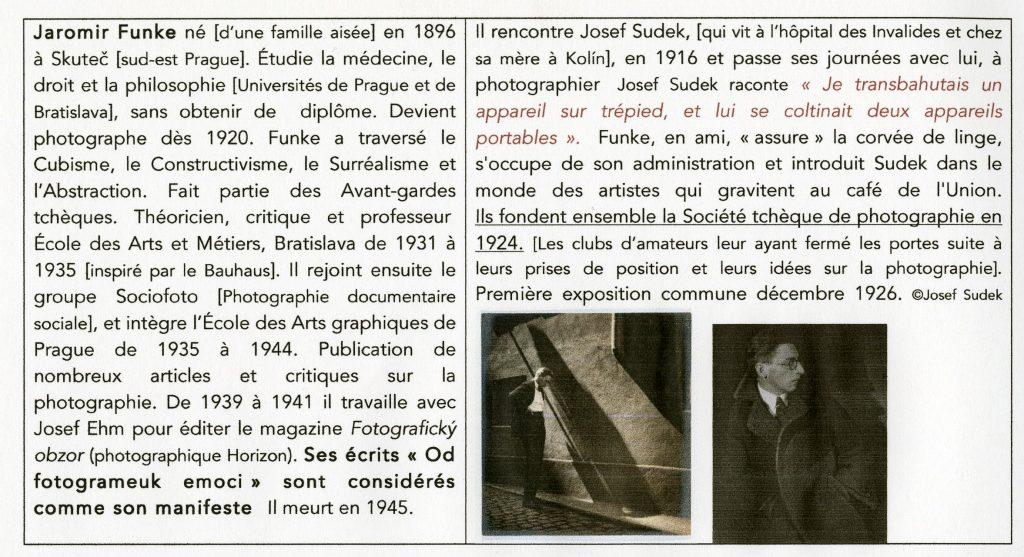 Petite biographie de Jaromir Funke
