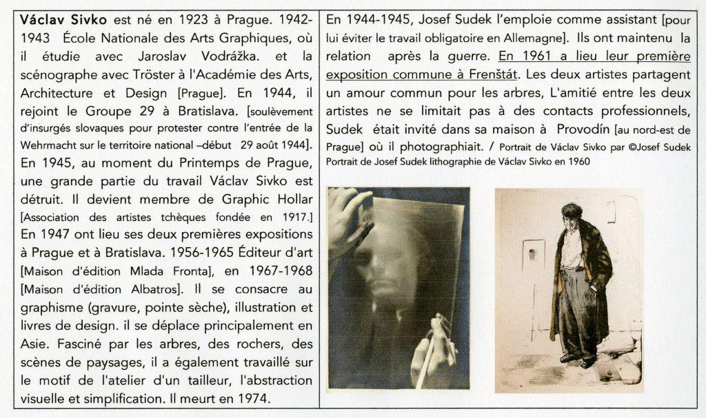 Petite biographie de Václav Sivko