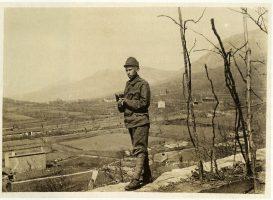 Josef Sudek en 1916 Sur le front italien, il fait des photographies