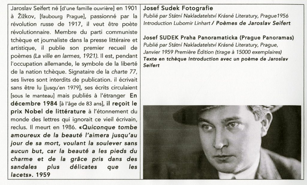 Petite biographie de Jaroslav Seifert