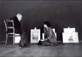 ©Ivan Dolezal - Anna Farova avec Sudek préparation expo 1976