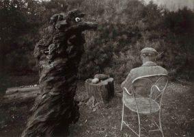 ©Josef Sudek - sa période surréaliste - dans le jardin magique