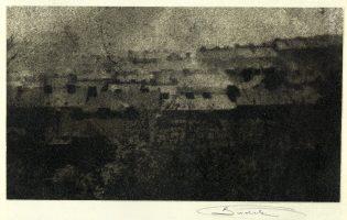 Les premiers tirages de Josef Sudek