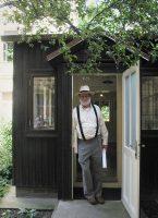Charles Sawyer à la dernière exposition de Josef Sudek