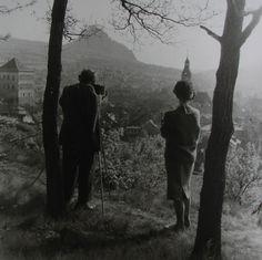 Josef Sudek et Sonja Bullaty