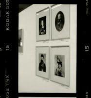Bonfils, un photographe en Orient - Exposition au Carré d'Art à Nîmes 1996 - (en haut Lydie Cabanis et Félix Bonfils - en bas Adrien Bonfils et Marie Sallmüller) [source personnelle©Colette Gourvitch]