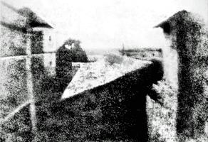 """Notes pour un bon usage des cours de photographie de l'Atelier pH.neutre - """"Le point de vue du Gras"""" 1926 Josef Nicéphore Nièpce. Saint Loup de Varennes"""