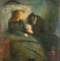 Edvard Munch L'enfant malade 1896 121,5X118,5 cm Göteborg