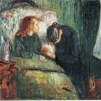 Edvard Munch L'enfant malade 1907  118,5X121 cm Tate Gallery Londres