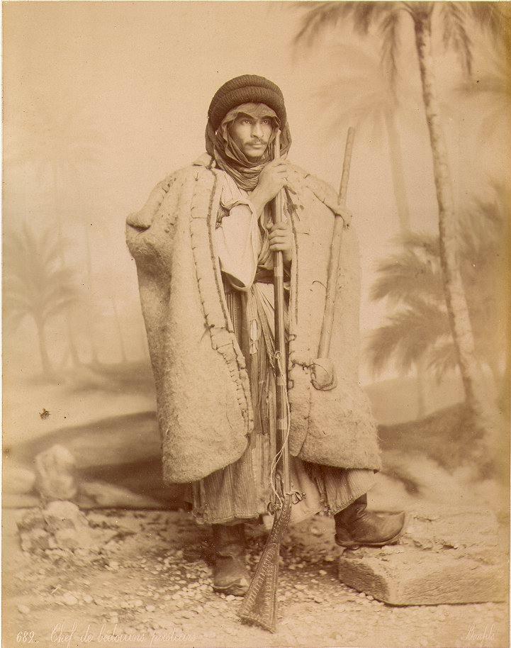 Bonfils, un photographe en Orient - Chef de bédouins bergers